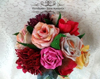 Wedding bouquetСватбен букет #Булка #рози