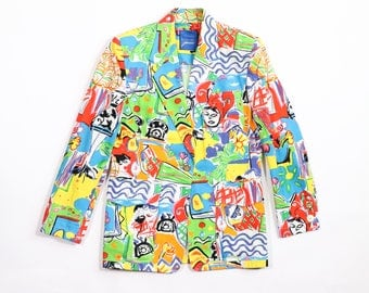 GUY LAROCHE - Crazy pattern jacket