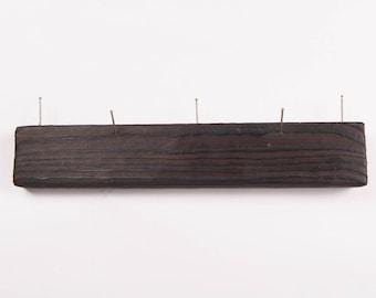 Handmade wooden kitchen or key hanger