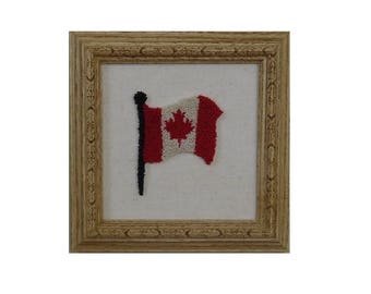 Digital Punch Needle Design, July 607 C, Canada, Punch of the Month