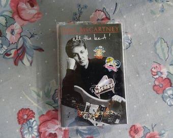 Vintage Paul McCartney All The Best Cassette