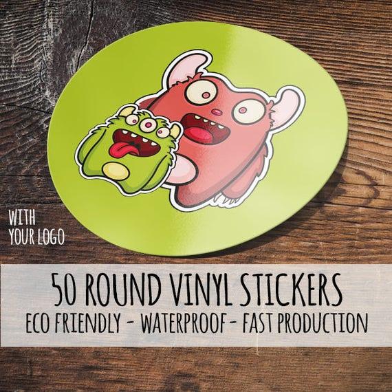 Custom Mason Jar Labels Round Labels Round Stickers - Custom vinyl stickers waterproof