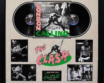 The Clash - London Calling- Signed Album - Framed