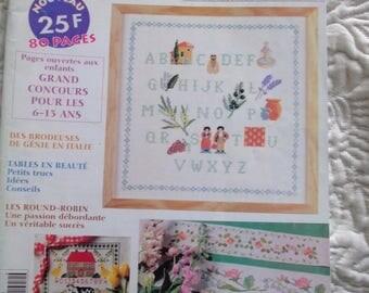 Book cross-stitch No.2 .juillet MAGAZINE August 1999