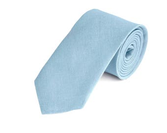Blue Tie For Wedding / Tie For Groomsmen / Blue Pocket Square With Necktie / Blue Men's tie / Blue Bow tie For Men