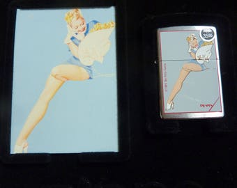 Vintage Zippo Petty Girl Zippo - New in Box