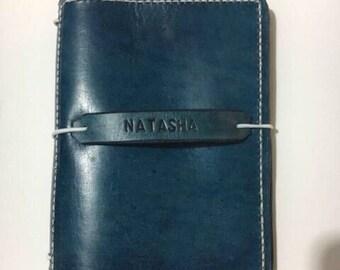 Passport Travellers Notebook / handmade Traveler's Notebook / Journal Cover / Midori / uglydori / fauxdori / Bullet Journal