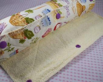 UnPaper Towels Set Of 6, Reusable Kitchen Towels, Reusable Paper Towels, Cloth Paper Towels, Roll Up Kitchen Towels, Snap Together Towels