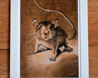 Giclée Print ''Muis''