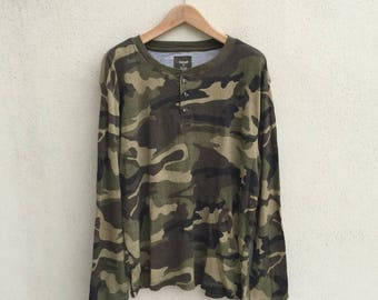 Camo Army Military Pullover