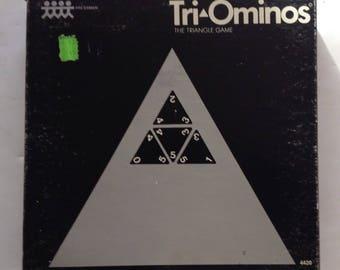 Vintage 1965 TRI-OMINOS GAME by pressman games