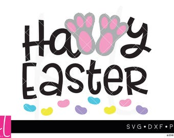 Bunny Feet svg, Easter Bunny svg, Happy Easter svg, Easter svg, Jelly Beans svg, Boy Easter svg, Girl Easter svg