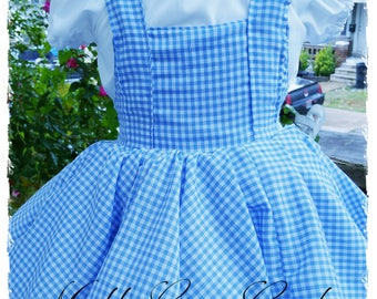 Dorothy Wizard of Oz Themed Dress