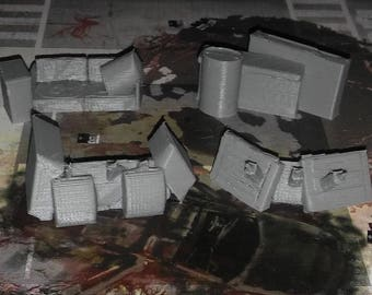 Zombicide Game Gear : Toxic City Mall Barricades