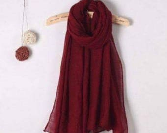 Red Scarf/Wrap