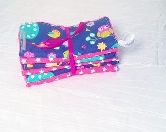 Washable wipes, toilet and baby care, in the faraway forest Collection