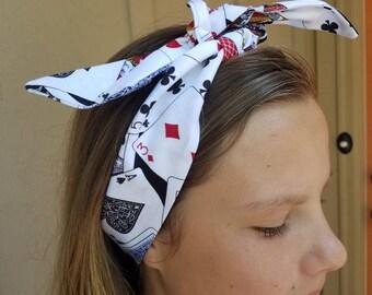 Deck of cards headband
