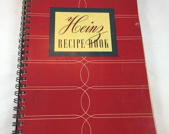 Heinz Recipe Book - Heinz Cookbook - Vintage Cookbook - Vintage Recipes - Heinz Ketchup - H.J. Heinz Company - 1930s Cookbook - Heinz Soup