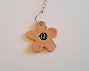 "Ceramic pendant ""Daisy"""