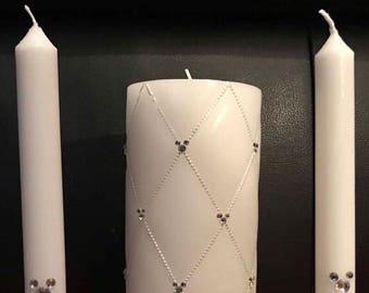 Mickey Head Unity Candle