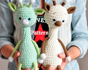 Toby the Giraffe, Amigurumi pattern, amigurumi giraffe pattern, crochet toy pattern, amigurumi doll pattern,amigurumi animals, PDF file