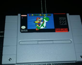 Authentic Super Mario World