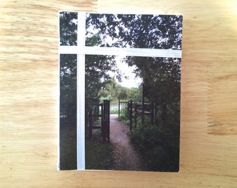 """Handmade Note Cards """"River Gate"""" Original Design: 10 Cards and 10 Envelopes - Flowers and Nature Stationery"""
