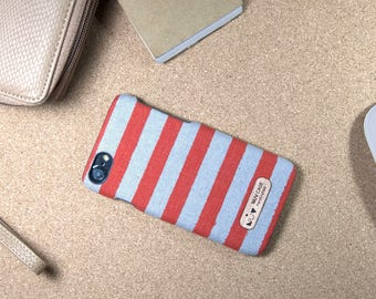 IPHONE7 / GALAXYS8 - anani - handmade fabric case