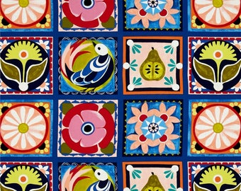 Spanish Tiles from the Valencia Collection by Michael Miller Fabrics