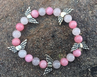 Pink and Angel wings