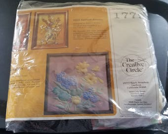 This creative Circle Embroidery Kit #  1799 made in 1983