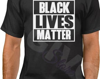 Black Lives Matter Shirt - Justice - Freedom T-Shirt - History African American T Shirt - Civil Rights Tee