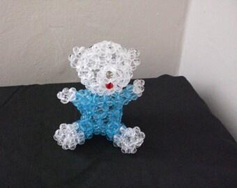 beaded toy, Teddy bear