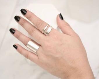 Modern Ring • Statement Ring • Modern Bold Ring • Adjustable Ring • Minimalist Ring • Geometric Ring • Gold Ring • Rose Gold Ring • Rings
