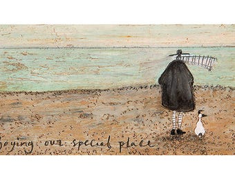 Sam Toft (Enjoying our Special Place) Art Print 50 x 100cm PPR41173