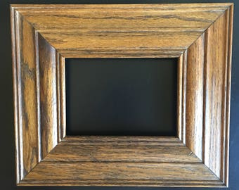 Solid Wood Picture Frame, Stained Wood Picture Frame, Picture Frame