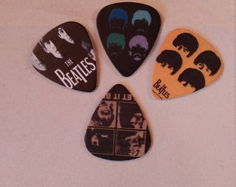 Beatles Guitar Picks - Several Pick Designs to Choose From!
