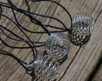Crystal Cage Necklace