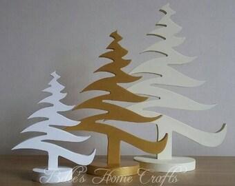 Christmas tree set of 3, Christmas decorations