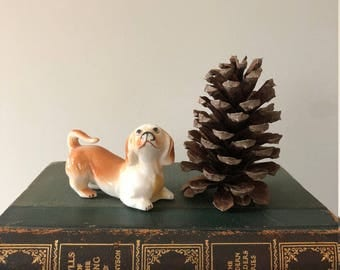 Bone China Dachshund Figurine