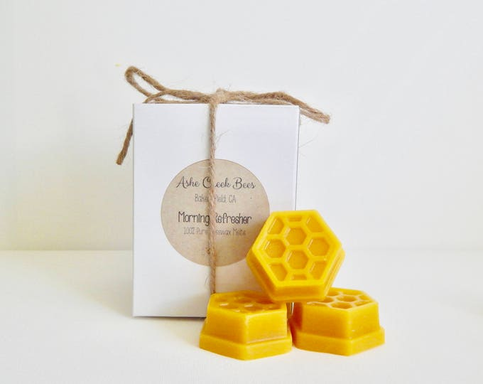 Featured listing image: Pure Beeswax Melts - Essential Oil Blends