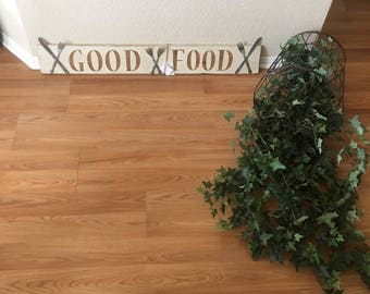 Good Food sign