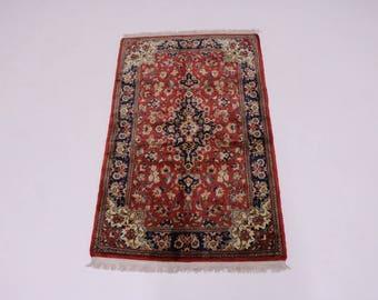 Gorgeous Classic Design Plush Ghom Qom Persian Rug Oriental Area Carpet 3'5X6