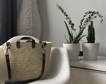 Wicker Basket- Adel Basket- Handmade- Perfect Gift