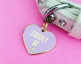 Cuddly AF Pet Charm