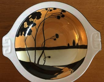 Vintage Hand Painted Bowl by Meito China, Made in Japan