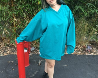 90's Teal Hockey Jersey