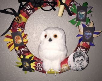 Hedwig Inspired wreath