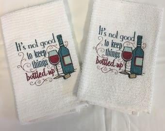 Owl hand towel | Etsy