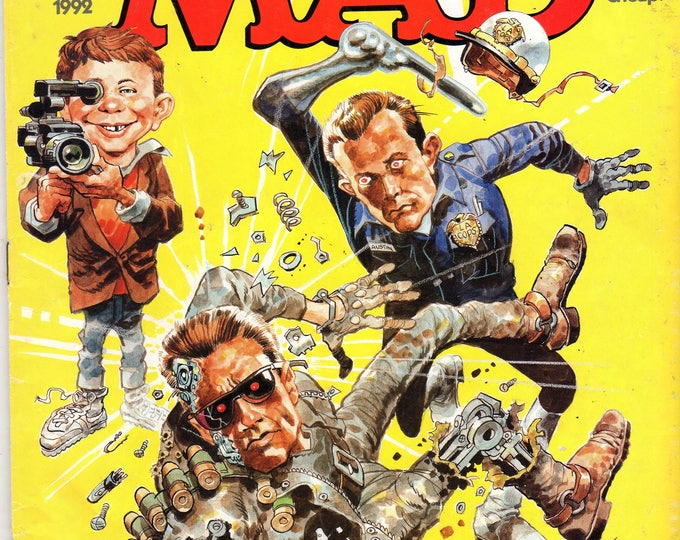 MAD Magazine #308 Terminator 2 January 1992 Issue